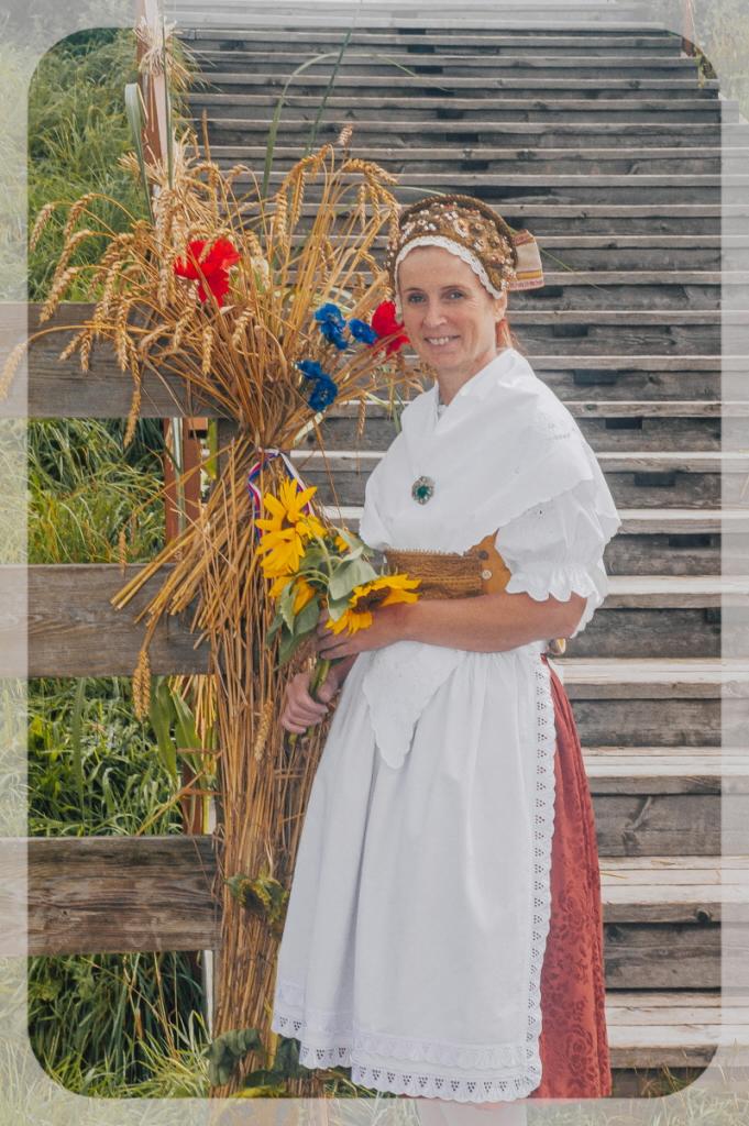 Vedoucí folklorního souboru Monika Čapková: V kroji jsem vyrostla. Foto: archiv Moniky Čapkové