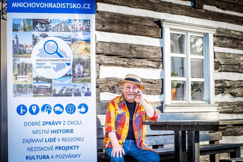 Ota Jirák – oficiální tvář portálu mnichovohradistsko.cz