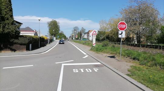 Změna přednosti v jízdě v Bakově nad Jizerou. Foto: město