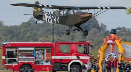 Spolek WAYPOINT MH zve na letiště do Hoškovic na Dětský den NATO. Foto: pořadatel