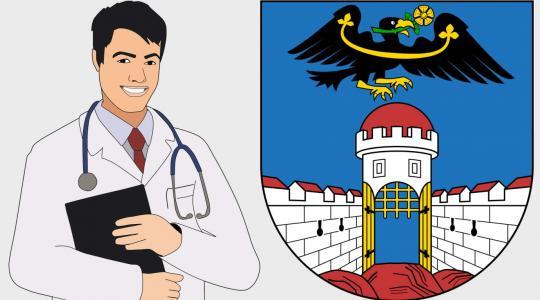 Město Dolní Bousov hledá praktického lékaře. Ilustrační obrázek: fotobanka pixabay.com