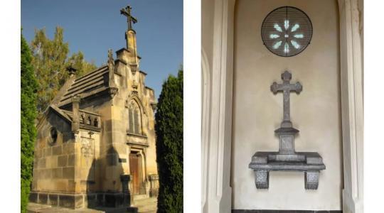 Kulturní památka na mnichovohradišťském hřbitově se dočkala opravy interiéru. Foto: NPÚ/město Mnichovo Hradiště