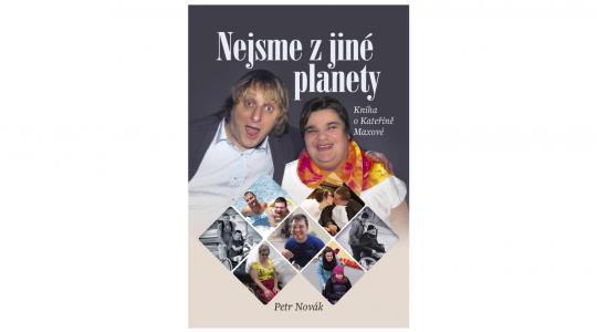 Kateřina Maxová - Nejsme z jiné planety (obálka knihy)