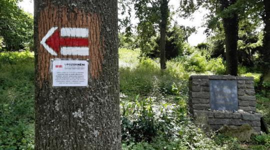 Červená turistická trasa v Hradišti byla upravena. Vede atraktivnějšími lokalitami, Foto: KČT Mnichovo Hradiště