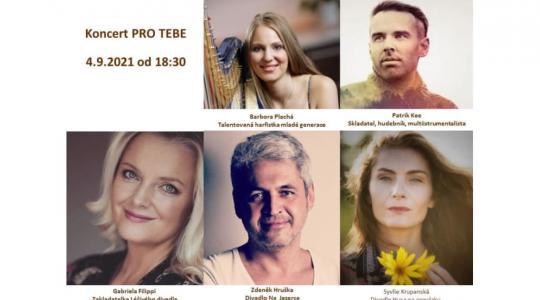 Koncert pro tebe na Malé Skále propojí umělce různých žánrů. Zdroj: lafabrica.cz