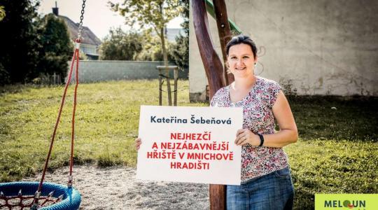 Kateřina Šebeňová: Nejhezčí a nejzábavnější hřiště v Mnichově Hradišti. Foto: Lucie Velichová