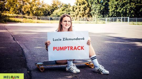 Lucie Zikmundová: Pumptrack. Foto: Lucie Velichová