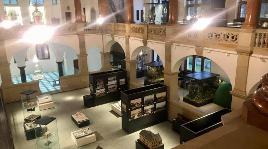 Nově zrekonstruované prostory Severočeského muzea v Liberci. Foto: Lucie Fürstová