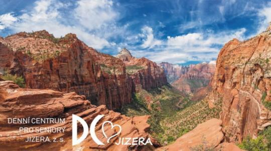 Denní centrum pro seniory Jizera zve na cestovatelské setkání o národních parcích v USA