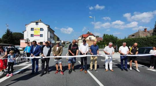 Nový úsek silnice mezi Turnovem a Svijany byl slavnostně otevřen. Foto: Liberecký kraj