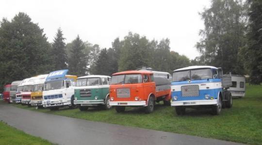 Hradiště opět přivítá sraz nákladních aut LIAZ. Foto: město Mnichovo Hradiště