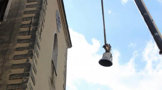 Zvony pro Bakovsko se poprvé rozezněly. Foto: město Bakov nad Jizerou